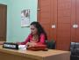 Kepala Dinas PPAMD Kab. Samosir Rawaty Simbolon, S.Pd, MM Hadir Mengikuti Sidang Ajudikasi di KI Provsu