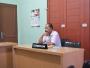 Plt Kepala Dinas Lingkungan Hidup Kab. Batubara Sunggu Sirait Menghadiri Panggilan Sidang di Komisi Informasi Provsu